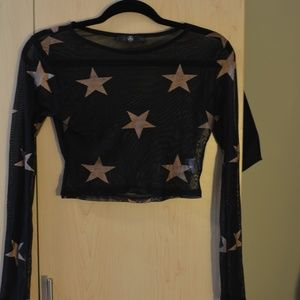 MissGuided Star Top